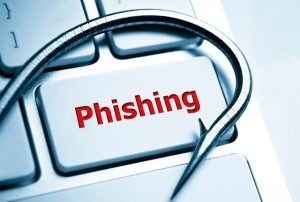 Steal password with phishing attack