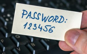 Very weak password